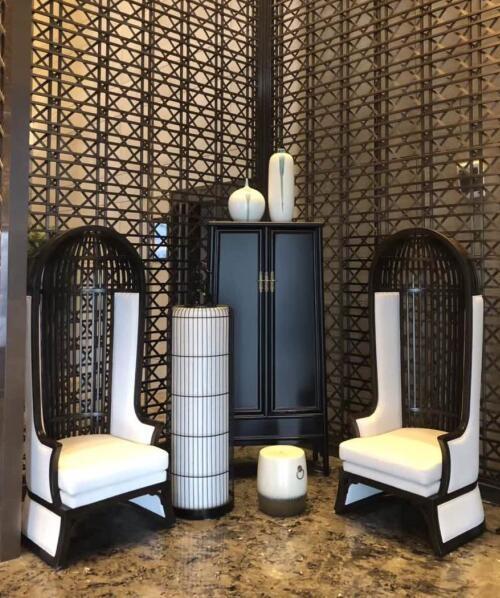 宾馆酒店形象椅